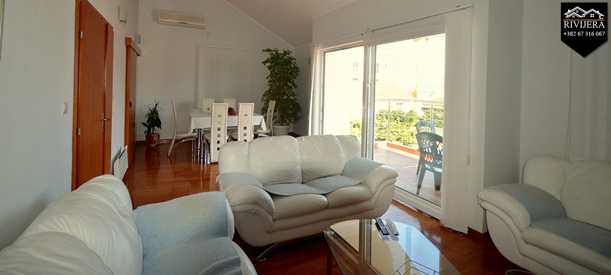 Atraktivan stan na obali mora Herceg Novi Djenovici