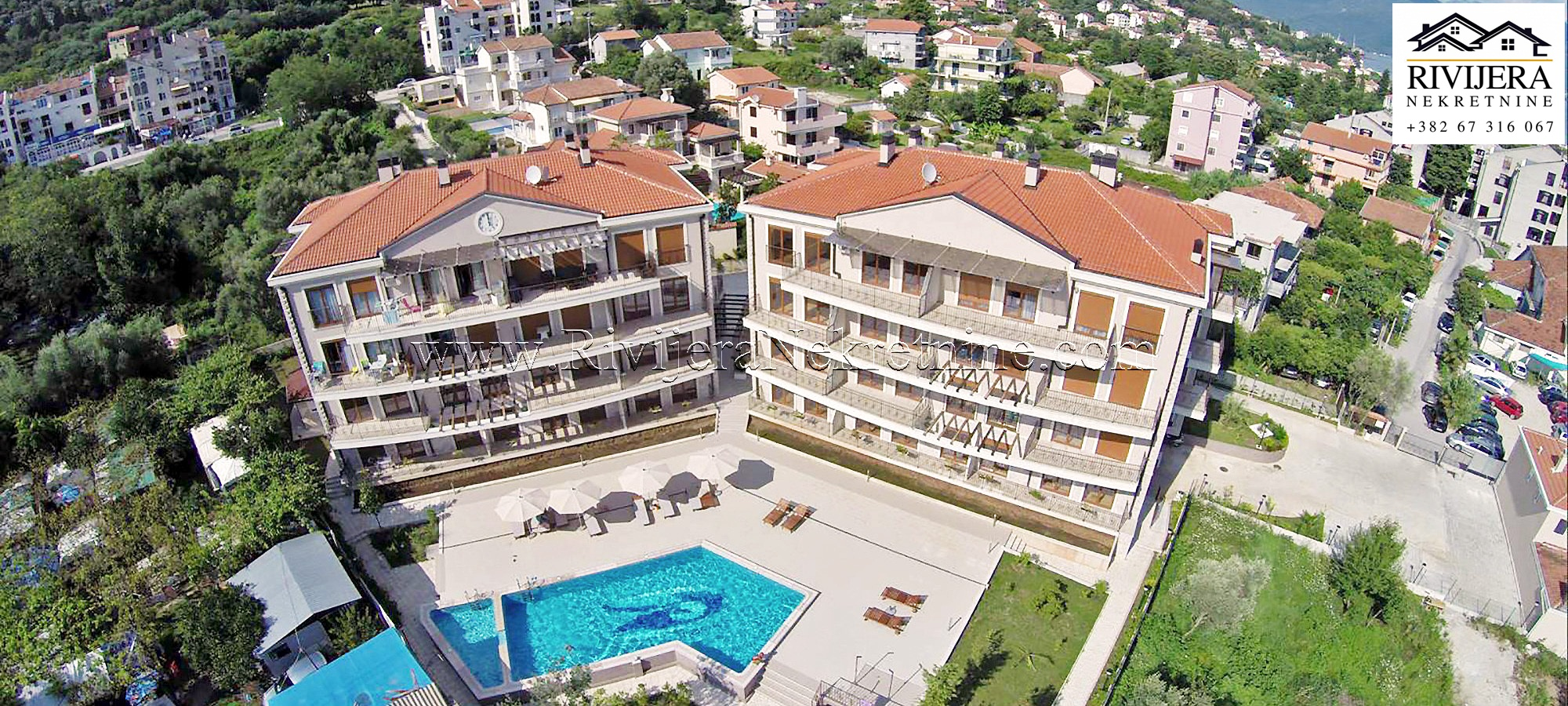 Na prodaju apartmani u ekskluzivnom kompleksu na obali mora Herceg Novi Baosic