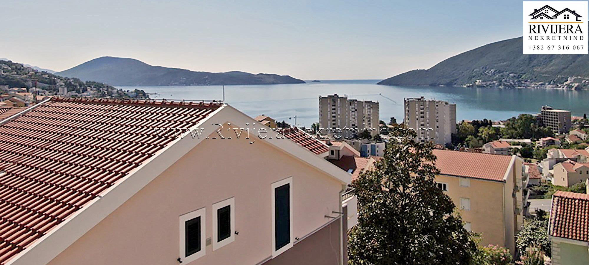 Atraktivno trosoban nov stan Herceg Novi Igalo